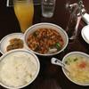 陳麻婆豆腐 - 料理写真:陳麻婆豆腐のランチセット@1,230円
