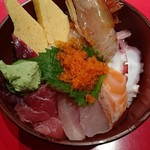 まるふく - ランチ 海鮮丼 980円