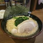 横浜家系ラーメン一刀家 - 20160913 醤油豚骨ラーメン