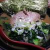 麺家 黒 - 料理写真:ラーメン 並(ほうれん草増し)2016.9.19