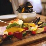 Ata - ムール貝+野菜