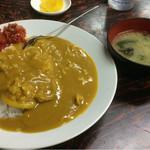 近江家 そば店 - 料理写真:カレーライス