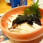 ほざき - 2016年7月 山芋酢物【350円】ちょっとさっぱりしたものでブレイク