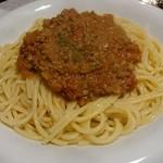 レストラン のや - スパゲッティ ミートソース