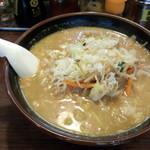 栄雅  - 野菜ラーメン(味噌)(720円)