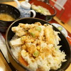 はげ天 - 料理写真:かきあげ天丼ランチ
