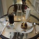 シンフラ - ドリンクセットのアイスコーヒー(300円)+8%
