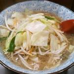 ラーメン本気 - 料理写真:チャンポン700円