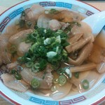 まるいし - 料理写真:焼き豚ラーメン730円