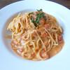 びすとろ DE またのり - 料理写真:雲丹スパゲティトマトクリームソース