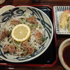 嘉司屋 - 料理写真:冷やし焼き鴨そば1080円