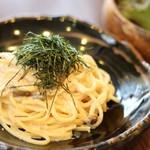 ネマルカフェ - 明太子スパゲティ