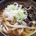 くれちうどん - 肉うどん(並¥450)2016