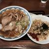 ホシナ食堂 - 料理写真:ワンタンメン+チャーハンセット800円
