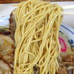 味幸 - チャーシュー麺(大盛り)900円(麺)