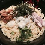 油そば 東京油組総本店 - 辛味噌油そば大盛り①