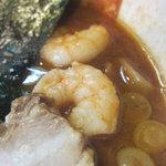 麺屋 優創 - 魚介味噌のアップ
