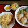 福龍 - 料理写真:半チャンラーメンセット 850円