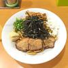 麺や遊大 - 料理写真:油そば 生姜 中盛 750円