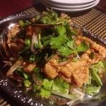 チルアウト - 若鶏の唐揚げ香草添え