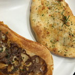 MIYABI cafe & boulangerie - 蓮根のイタリアンきんぴら 茄子とドライトマトのジェノベーゼ