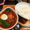 鴻 - 料理写真:「赤ぶたしゃぶカレー」1,100円