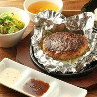 ◆アツアツ肉汁ハンバーグ[150g]