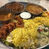 ゼロワンカレー - 料理写真:201609再訪 南インド定食あいがけ レモンライス