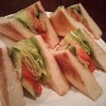 coffee shop KAKO  - トーストサンドイッチ(野菜サンド)