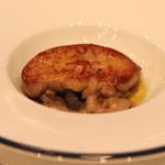 リストランテ エッフェ - 料理写真:一皿目の軽い前菜 フォアグラ