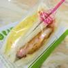 メルヘン - 料理写真:エビカツとタマゴのペアサンド