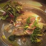 サヴール - 鴨肉のオードブル