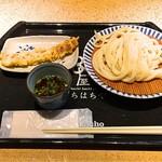 藁焼きと四国料理88屋 - 2016 ざるうどんとちくわ