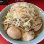 小十郎 - 味噌ラーメン+刻み玉ねぎ