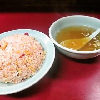 みん亭 - 料理写真:チャーハン スープ