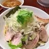 つけ麺 結心 - 料理写真:チャーシューつけ麺ネギトッピング