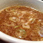 つけ麺 結心 - つけ麺スープ