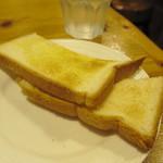 くりすたる - ナポリタンのトースト