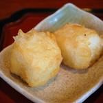 てぃーらぶい - ジーマミ豆腐の天ぷら