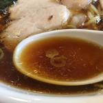 らーめんヒグマ - 綺麗なスープ