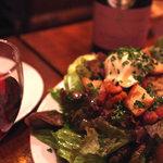 SOT L'Y LAISSE - 砂肝のコンフィのサラダ