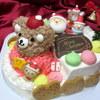 サンタアンジェラ - 料理写真:リトルベアと仲良くソリすべり にぎやかな仲間たちのクリスマスケーキ!
