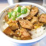 麺匠 呉屋 - 肉そぼろ飯_2016/09