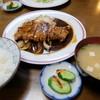 自由軒 - 料理写真:肉ライスセット