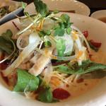 チャイニーズ 芹菜 - 冷やし担々麺のアップ。