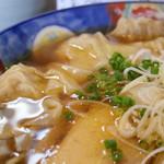 かつみ - 2016年9月 肉ワンタン麺