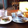 Midsummer Cafe 夏至茶屋 - 料理写真:クルミタルト&ホットティー