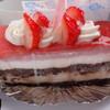 ミヤモト - 料理写真:イチゴのティラミス