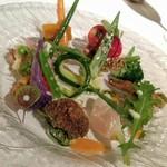 56405433 - 季節の野菜の前菜