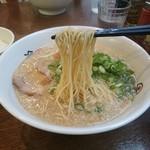 らーめん一途 - 麺かため(らーめん)